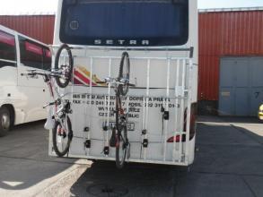 Bus bike rack