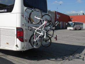 Fahrradträger für Buse